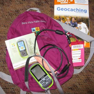 Contents of Geocaching Pack.