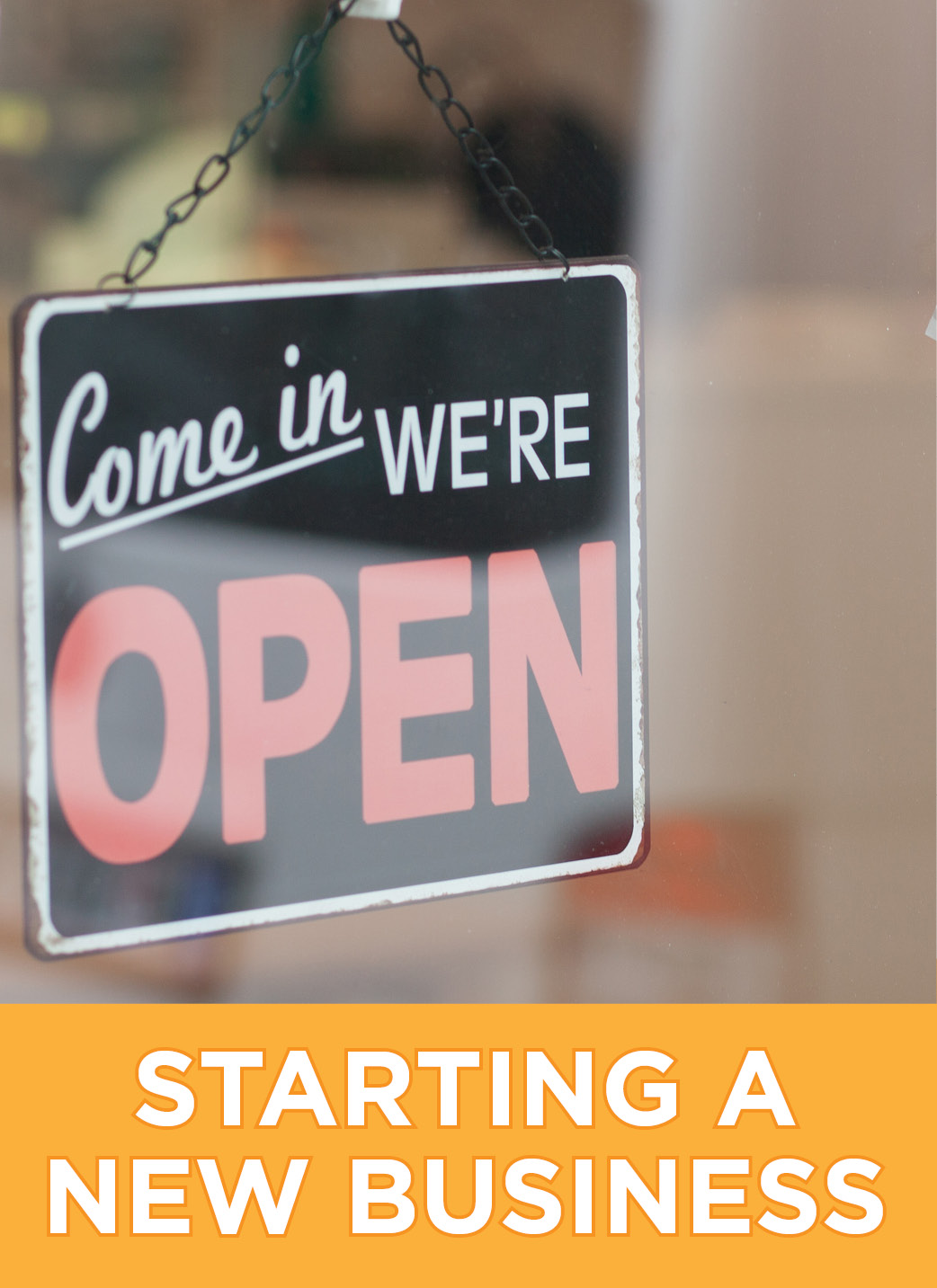 Link to learn about starting a new business